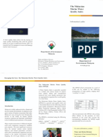 Brochures - JAS the Malaysian Marine Water Quality Index