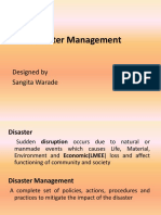 Disaster Management 506