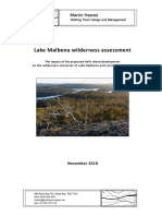 Lake Malbena Wilderness Assessment - M Hawes - Nov 2018 - FINAL