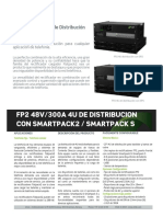 Fp2 48v300a 4u Distribution With Smartpack2 m20405.401.Ds6