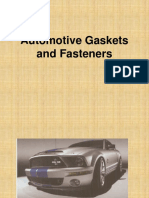 Automotive Gaskets and Fasteners