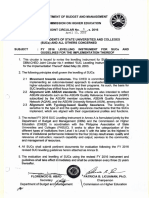 DBM CHED Joint Circular No. 1 2016 FY 2016 Levelling Instrument for Sues and Guidelines for the Implementation Thereof