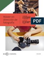 Master Fotografia 2018 2019