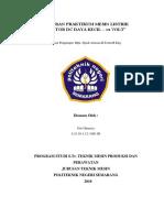 Laporan Praktikum Motor Listrik, Dc Kecil