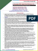 Current Affairs Weekly PDF - November 2018 Third Week (16-23)