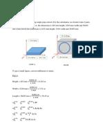 Calculation Math Project