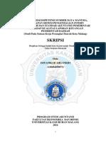 Skripsi  Akuntansi Sektor Publik