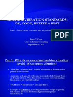 Machine Vibration Standards - Part 1 - Why