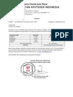 SK SKP 257-2018 Gema Cermat Bagi Tenaga Teknis Kefarmasian Se-Kab Tuban - TUBAN