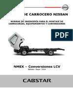 Manual de Carrocero Nissan Normas de Ingeniería Para El Montaje de Carrocerías, Equipamientos y Conversiones (1)