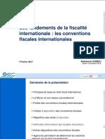Fiscalité Internationale Les Convention Fiscales Internationales