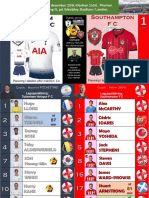 Premier League week 15 181205 Tottenham - Southampton 3-1