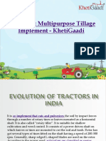Rotavator Multipurpose Tillage Implement