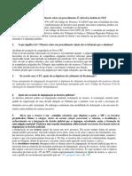 Estudo Dirigido Do Segundo Estagio Processo Civil