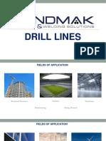 Bendmak - Product Knowledge Presentation - Beam Drill Lines