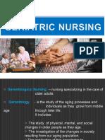 51119757 Geriatric Nursing