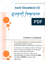 Gurbani Grammar