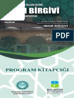 Birgivi Sempozyum Program
