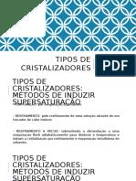 Aula Cristalizadores