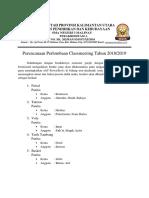 Dokumen Perencanaan Classmeeting