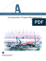 FTA Construction Project Management Handbook 2016