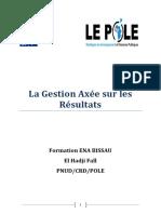 049-Fascicule La Gestion Axe Sur Les Rsultats