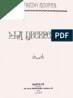 La Decepción - Alfredo Acosta