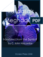 Kalidasa Meghaduta Translation