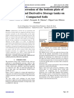 External Corrosion of the bottom plate of Petroleum and Derivative Storage tanks on Compacted Soils