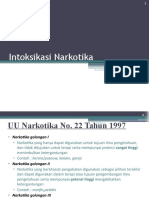 Intoksikasi Narkotika & Withdrawal Effect