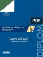 Salud Mental y Psiquiatría Comunitaria