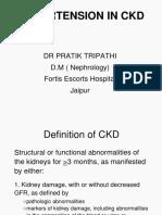 Management of Hypertension in CKD
