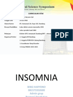 1. Dr Bing Haryono Insomnia Seminar 2018