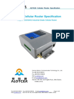 Alotcer AD7028 Cellular Router Specification