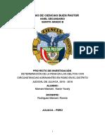 DETERMINACIÓN DE LA PENA EN LOS DELITOS CON CIRCUNSTANCIAS AGRAVANTES EN ROBO EN EL DISTRITO JUDICIAL DE JULIACA, 2015 - 2016