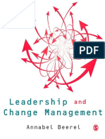 Leadership and Change Managemen - Annabel Beerel