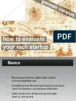 How to value YOUR Tech Startup