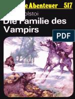 Das Neue Abenteuer 517 - Alexej Tolstoi - Die Familie Des Vampirs