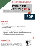 Sistema Inyección UPS