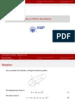 Aeroelasticity FEM