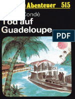 Das Neue Abenteuer 515 - Maryse Condé - Tod Auf Guadeloupe