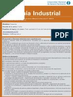 Licenciatura en Economía Industrial (UNGS)