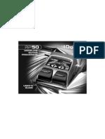 Digitech RP50 Manual