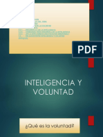 Inteligencia y Voluntad