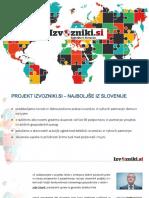 Predstavitev Izvozniki.si 2019