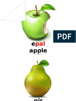 Slaid Buah-buahan Import