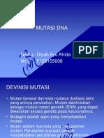 Mutasi Dna Ppt