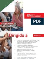 Coaching profesional y educativo
