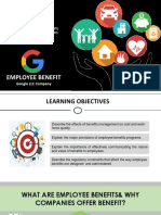 Employee Benefits Presentation