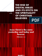 MIL Digital Bibles and Their Effect on Christian Believers